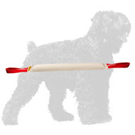 Fire Hose Russian Terrier Bite Tug with 2 handles