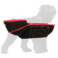 Reliable French Linen Black Russian Terrier Sleeve for Training