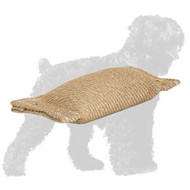 Lightweight Pocket Jute Russian Terrier Bite Tug