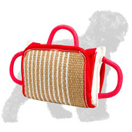 Upgraded Russian Terrier Bite Pad with Jute Cover