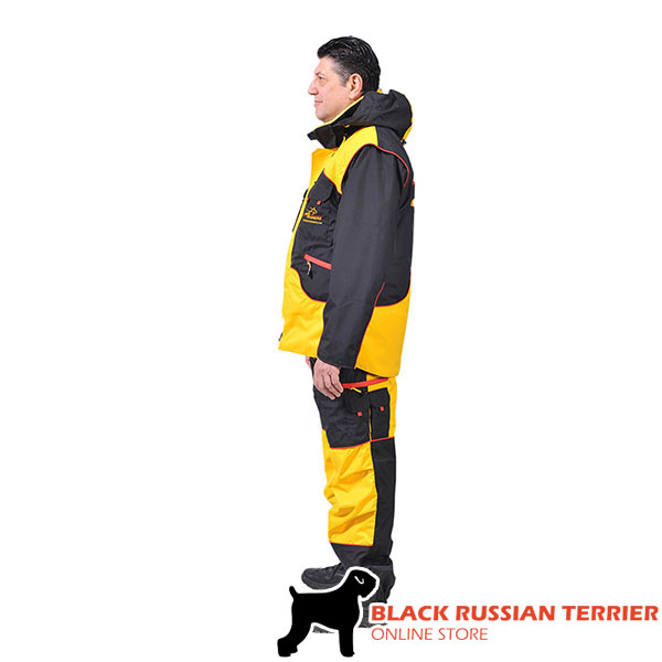 Perfect in Convenience and Protection Dog Training Suit for Training