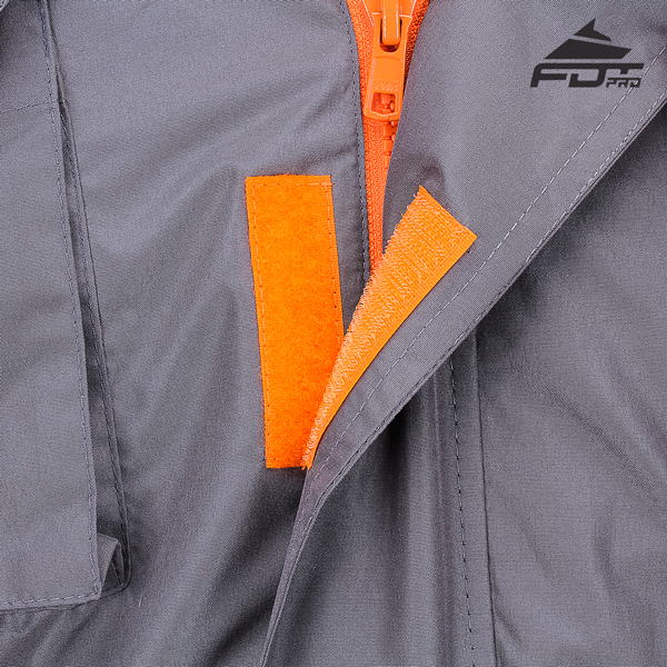 Durable Velcro Fastening on Dog Tracking Jacket for Everyday Activities