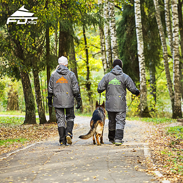 Professional Dog Training Jacket of Quality for Any Weather