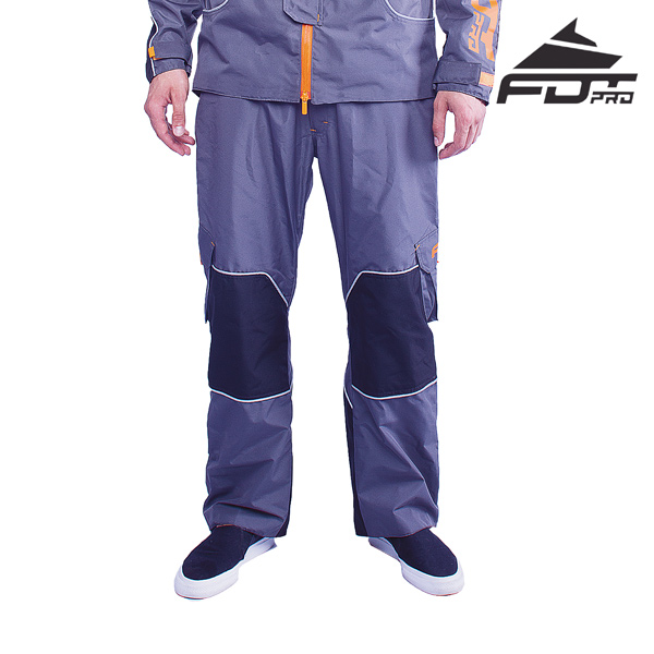 FDT Professional Pants Grey Color for Everyday Activities