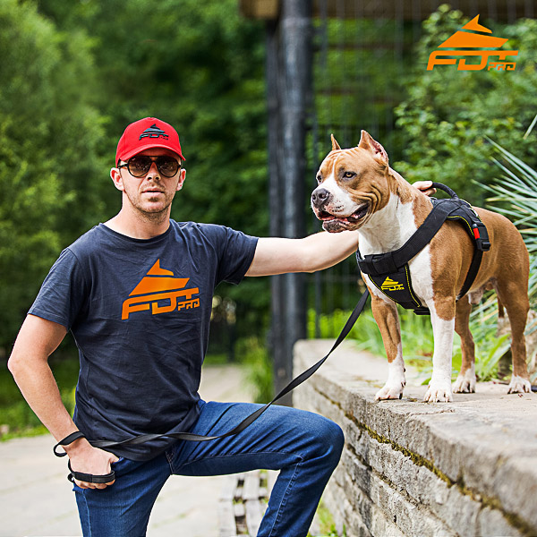 Men T-shirt of Top Notch Cotton with Pro Logo for Dog Trainers