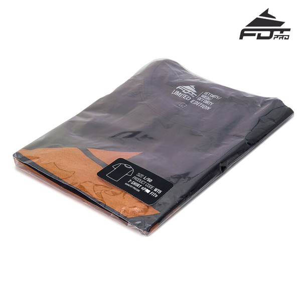 Packed Professional Design T-shirt of Dark Grey