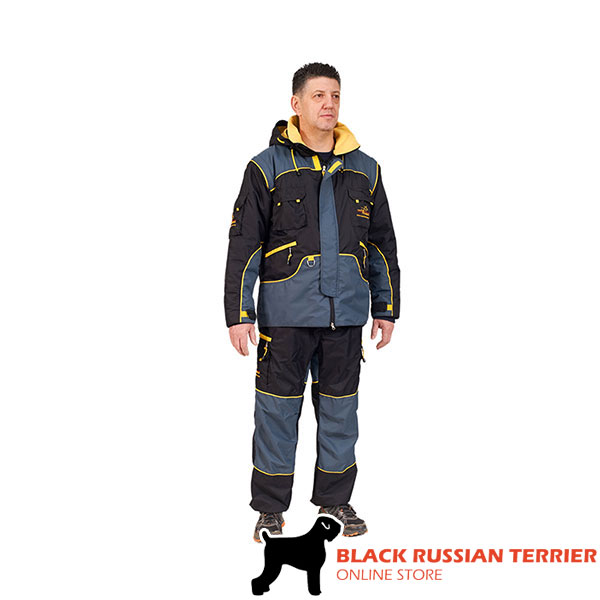 Weatherproof Protection Suit for Safe Training