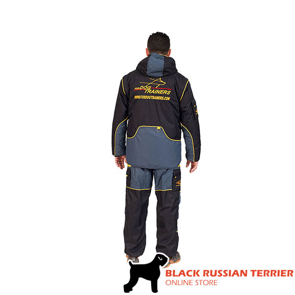 Train your Canine in Light and Waterproof Bite Suit