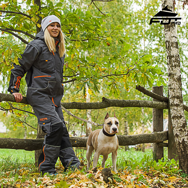 Unisex Design Active Dog Training Professional Pants with Back Pockets