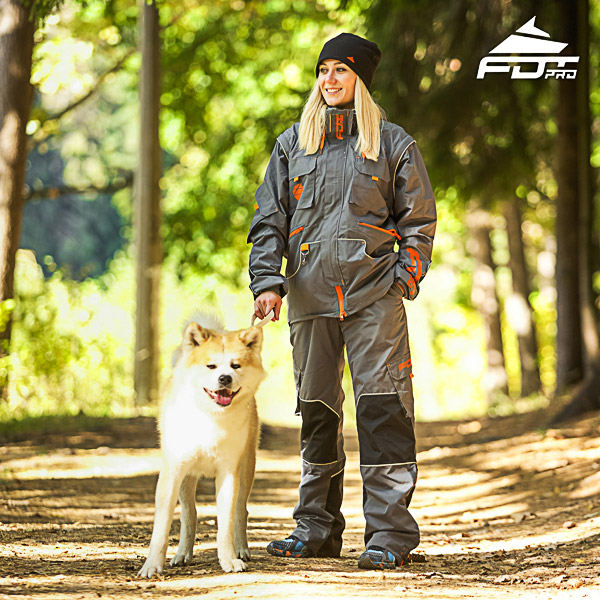 Men and Women Design Dog Trainer Jacket of Top Quality Materials
