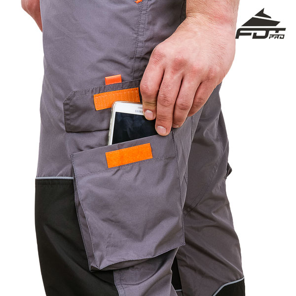 Convenient Design Pro Pants with Strong Back Pockets for Dog Trainers