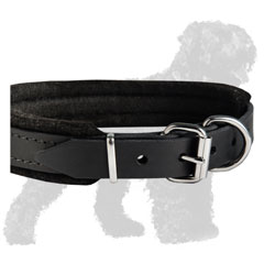 Easy Adjustable Leather Dog Collar