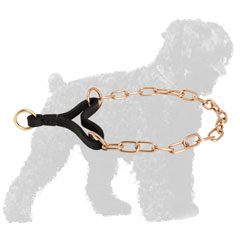 Corrosion Resistant Curogan Martingale Russian Terrier Collar