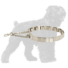 Reliable Stainless Steel Dog Neck Tech Collar for Russian Terrier