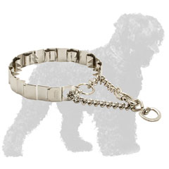 Corrosion Resistant Stainless Steel Russian Terrier Prong Collar