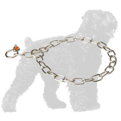 Durable Stainless Steel Russian Terrier Fur Saver for Walking