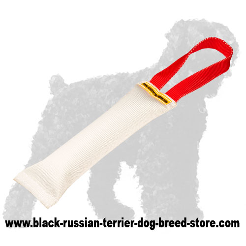 Fire Hose Russian Terrier Bite Tug With Handle