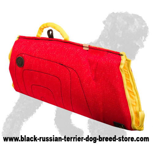 Durable French Linen Russian Terrier Bite Sleeve