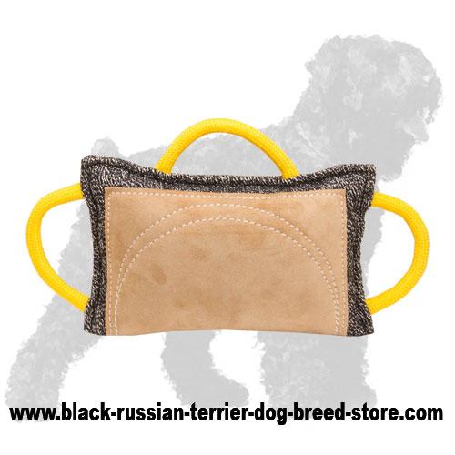 french linen russian terrier bite pillow for advanced training te12