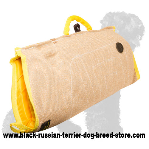 Reliable Jute Russian Terrier Sleeve for Puppies