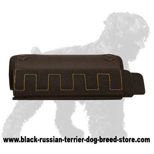 Professional Black Russian Terrier Bite Builder for Easy Training