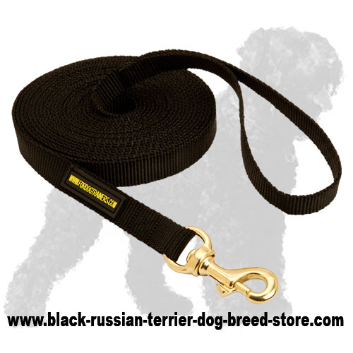Tracking Nylon Russian Terrier Leash