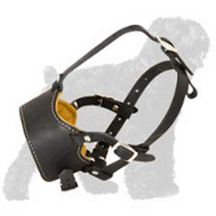 Nappa Padded Leather Muzzle