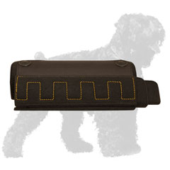 Hand-Stitched Russian Terrier Bite Builder for Training