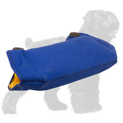 Strong French Linen Dog Bite Builder for Basic Russian Terrier Grip Training