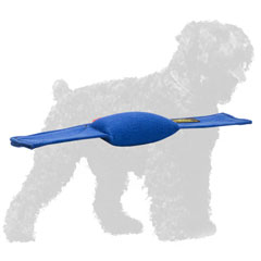 Safe French Linen Russian Terrier Bite Pad for Training