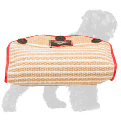 Jute Russian Terrier Bite Builder for Puppy Basic Training