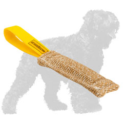 Practical Jute Russian Terrier Tug for Bite Training