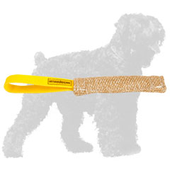 High Quality Jute Russian Terrier Bite Tug for Prey Drive Development