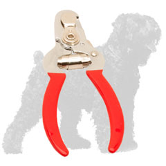 Comfy to Hold Russian Terrier Trimmer with Vinyl Handles